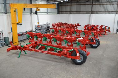 8. Assembling of ploughs