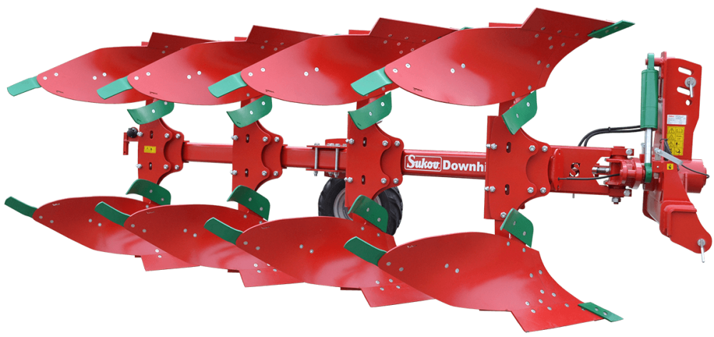 MOUNTED REVERSIBLE PLOUGHS